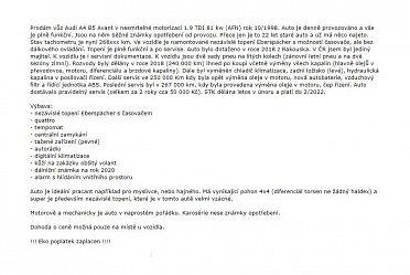 AUDI A4 B5 1.9 TDI (AFN) AVANT QUATTRO - WEBASTO