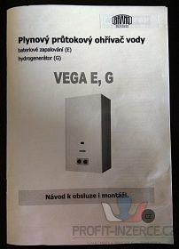 plynový průtokový ohřívač VEGA MORA TOP