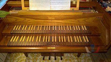 Dvoumanuálové koncertní cembalo Senftleb