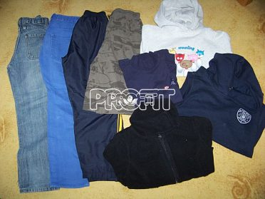 Chlapecké oblečení vel. 134-164, 36ks