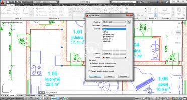 Kreslení strojních a stavebních výkresů