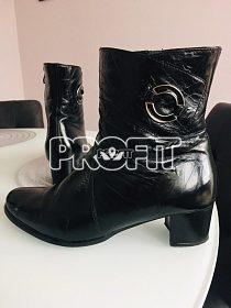 Dámské kožené zimní boty vel. 41