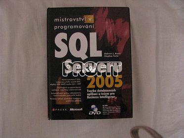 Prodám knihu mistroství v sql server 2005