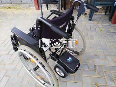 invalidní vozík s přídavným motorkem