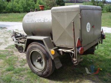 Mobilní cisterna PHM a oleje