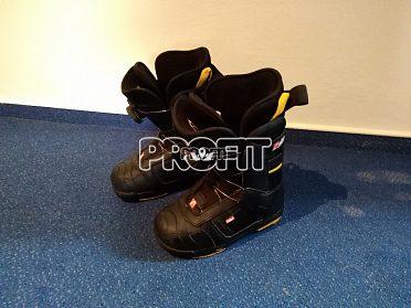Prodám dětské snowboardové boty velikost 32