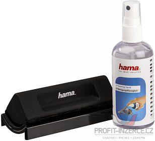 čistící set pro gramofonové desky Hama