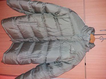 Zimní péřová bunda...