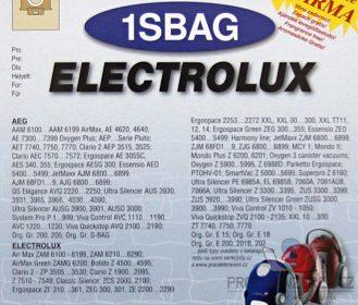 Univerzální sáčky Electrolux SBAG