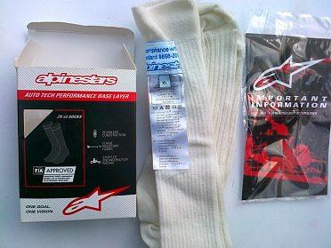 Alpinestars ponožky Fia .nové