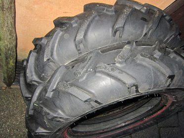šípové pneu 6x16
