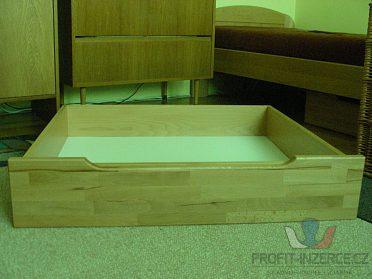 úložné šuplíky pod postel