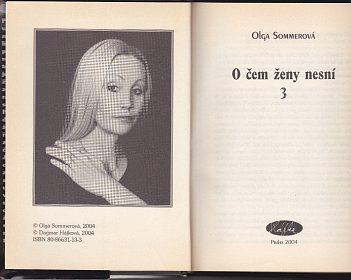 OLGA SOMMEROVÁ-O ČEM ŽENY NESNÍ 3