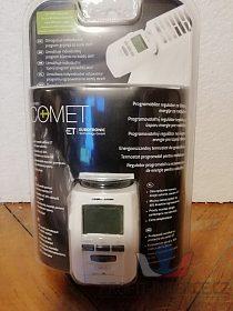 Programovatelná termostatická hlavice -