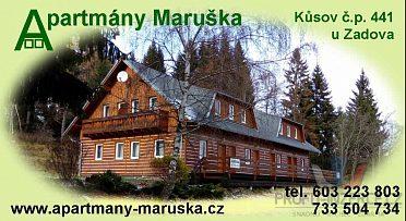 Apartmány Maruška - rekreační ubytování