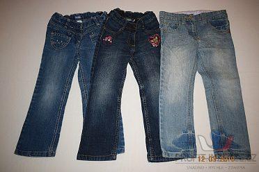 Balík oblečení na holku vel. 92-110