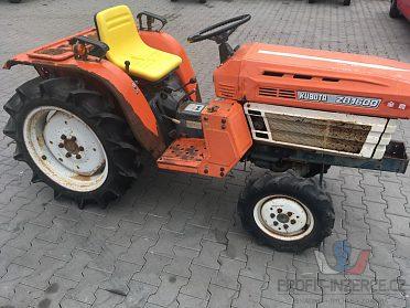 Traktor Kubota B1600DT, 4x4, 16 Hp