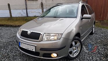 Škoda Fabia Combi 1,9TDi 74kW Elegance