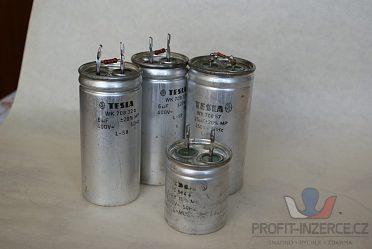 Kompenzační kondenzátory 6-25 mikrofarad