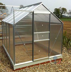 Hliníkový skleník s polykarbonátem