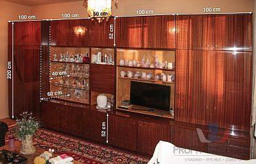 Prodám retro obývací stěnu.