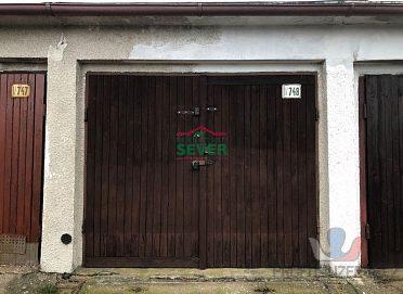 Prodej garáže Horní Litvínov
