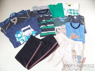 Set chlapecké oblečení vel. 152-164,21ks