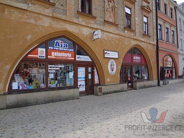 Obch.prostory na Masaryk.nám.v Hranicích