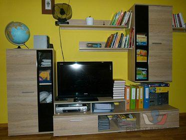 Obývací stěna – dub sonoma