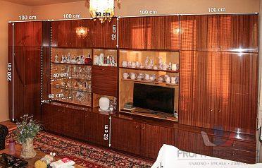 Daruji obývací stěnu