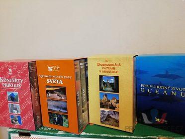 4 kolekce po 3ks. VHS videokazet