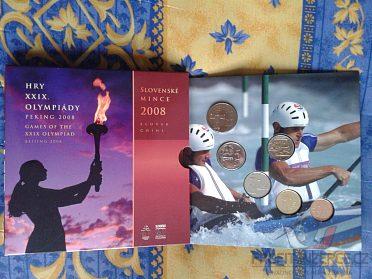 sada mincí SR 2008 - Olympijské hry Peki
