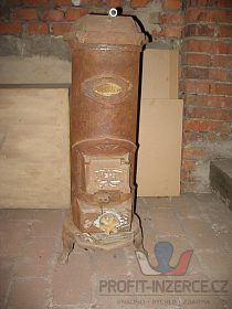Pokojová kamínka starožitná -sleva 200Kč