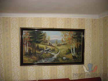 Obraz malovaný (zátiší).