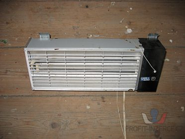 Infrazářič elektrický