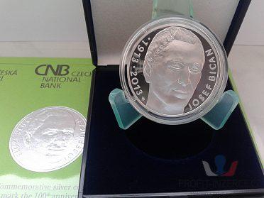 200 Kč 2013 - 100. výr. nar. Josefa Bica