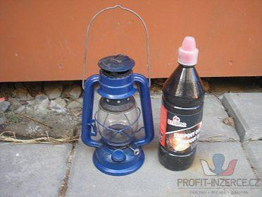 Petrolejová lampa + lampový olej