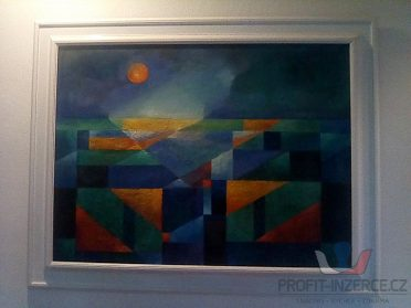 Prodám pěkné originál abstrakt obrazy!!!