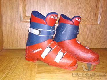 Lyžařské boty Alpina (235-240mm)