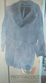 Kabát semiš+kožešina