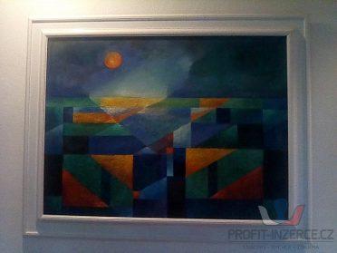 Prodám originál pěkné abstraktní obrazy!