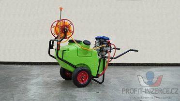 Motor postřikovač, dezinfekce, pesticid.