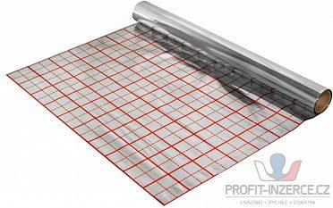 Folie pro podlahové vytápění, s rastrem