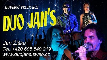 Hudba-pro všechny akce-Duo-Jans