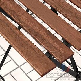 Zahradní set:  stůl + židle