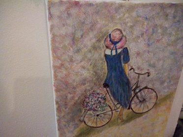 Obrazy ručně malované na platne