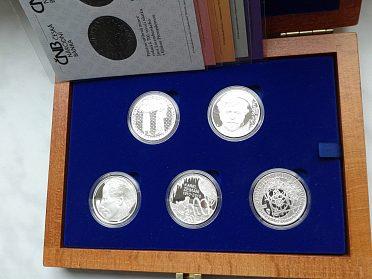 stříbrné mince 200 Kč rok 2010 PROOF