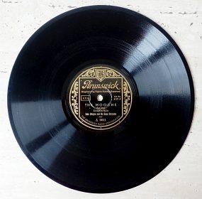 Duke Ellington – starožitná šelaková gramodeska, rarita, rok 1928
