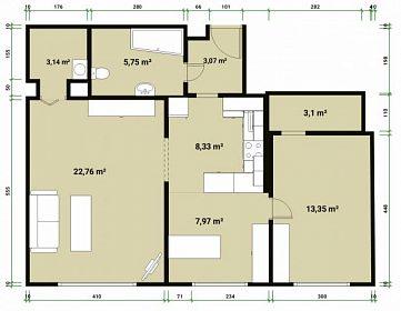 Pronájem bytu na Praze 6 - ihned k dispozici