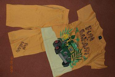 Sada - triko+kraťásky